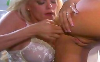 atractive blond lesbian babes with large hooters
