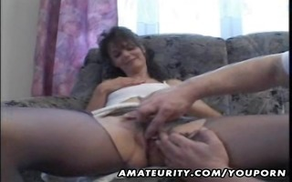 aged non-professional housewife homemade fuck