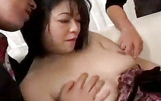oriental angel getting her pussy and dark hole