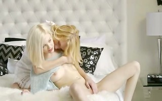 swedish blonde lesbian babes make true love