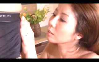 asian older engulfing slong and receiving