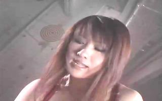 natsuki in sadomasochism lesbian club