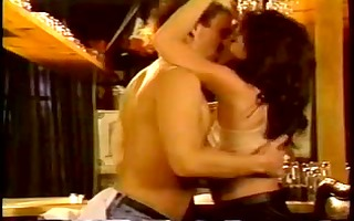 classic star aja sucks and copulates in a bar