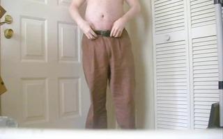 geting nude