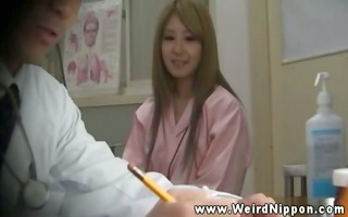 lustful oriental patient acquires her mangos out