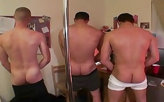 taut booty homo chaps having some sex scene