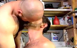 david loves his men manly!