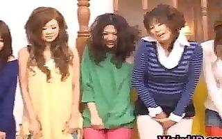 oriental dolls acquire tutoring in their hot