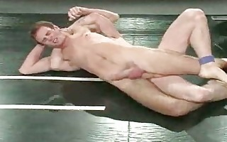 wicked homo fellows in hardcore wrestling session