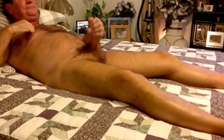 daddy jerking in the daybed