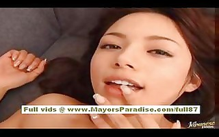 tina yuzuki hawt oriental playgirl shows off her
