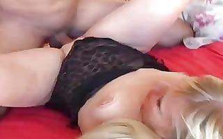 beautiful mature blond enjoys a hard fucking