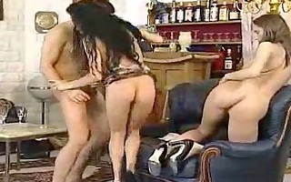 sexy broads have a fun te partys finale
