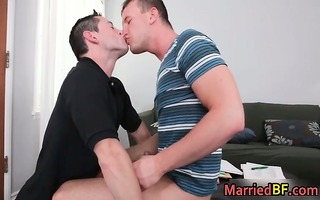 hunky married str fellow acquires