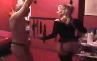 sadomasochism femdom bitch goddess in real dance