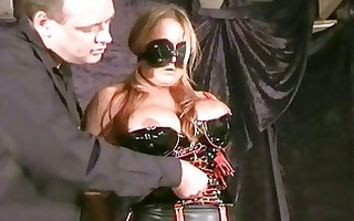 perverted latex fetish slavegirls blindfolded