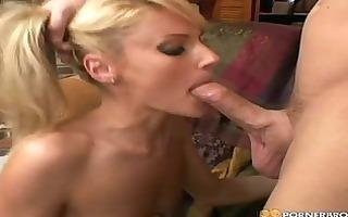lustful golden-haired d like to fuck sucks
