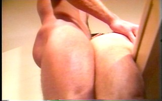stuffing his a-hole with my dude meat(clip)