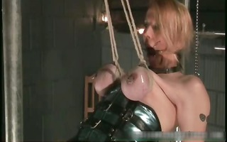 nastu blonde babe is bound and spanked part10