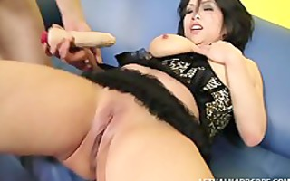 bigtitty oriental super squirts like a damn