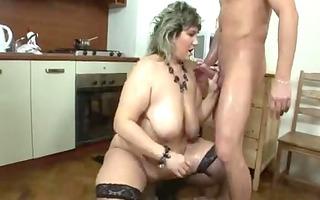 large glamorous woman mature toys