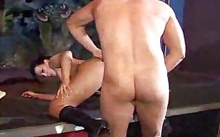 dong sucking milfs n wives fucking male strippers