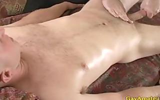 str dilettante hunk receives schlong rubbed